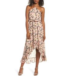 Fraiche By J - Halter Maxi Dress - Lyst