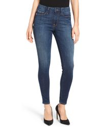 GOOD AMERICAN Good Legs High Rise Skinny Jeans - Blue