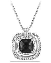 David Yurman - Chatelaine? Pave Bezel Necklace With Gemstone And Diamonds - Lyst