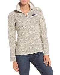 Patagonia - 'better Sweater' Zip Pullover - Lyst