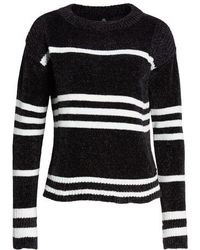 love by design chenille stripe knit sweater lyst - Nordstrom Christmas Sweaters