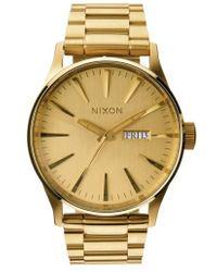 Nixon | Sentry Bracelet Watch | Lyst