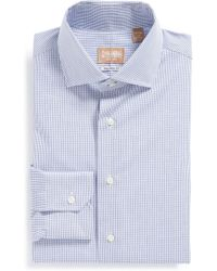 Gitman Brothers Vintage - Tailored Fit Gingham Dress Shirt - Lyst