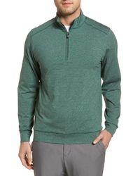 Cutter & Buck - Shoreline Classic Fit Half Zip Pullover - Lyst