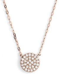 Nadri | 'geo' Small Pendant Necklace | Lyst