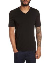 Goodlife - Classic Supima Cotton Blend V-neck T-shirt - Lyst