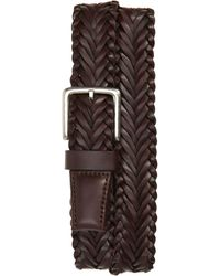 Cole Haan - Braided Leather Belt - Lyst