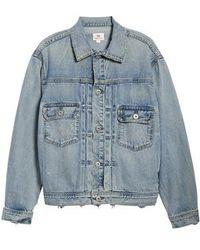 AG Jeans - Cassie Denim Jacket - Lyst