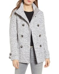 Thread & Supply Oxford Double Breasted Coat - Multicolour