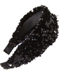 BP. Sequin Headband - Black