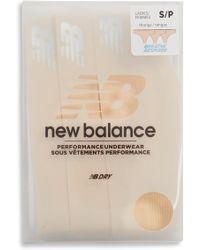 New Balance - Breathe 3-pack Thongs, Beige - Lyst