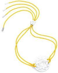 Daisy London | 'solar Plexus Chakra' Cord Bracelet | Lyst