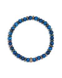 Nordstrom Agate & Turquoise Bead Bracelet - Blue