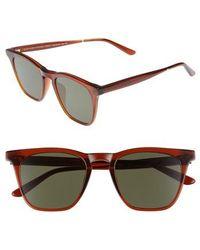 Smoke X Mirrors | Rocket 88 50mm Square Sunglasses - Bottle Brown/ Green | Lyst