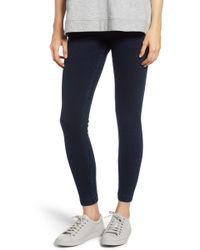 Lyssé - High Waist Denim Leggings - Lyst
