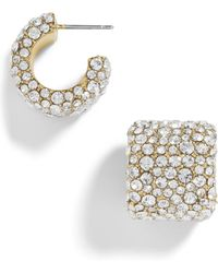 BaubleBar - Jocelyn Huggie Earrings - Lyst