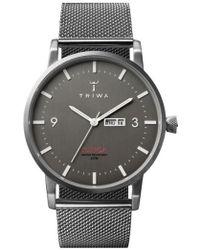 Triwa   'klinga' Mesh Strap Watch   Lyst
