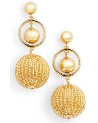 Kate Spade | Beads And Baubles Drop Earrings | Lyst