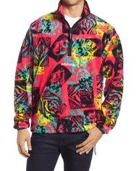 adidas Originals Men's Quarter Zip Pullover - Multicolor