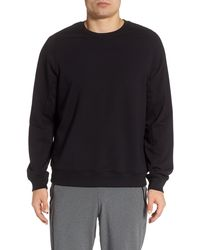 Zella - Crewneck Fleece Sweatshirt - Lyst