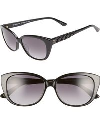 Juicy Couture - 54mm Cat Eye Sunglasses - - Lyst