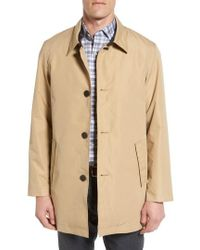 Cole Haan - Cole Haan Water Resistant Car Coat - Lyst