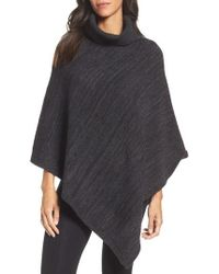 Barefoot Dreams | Barefoot Dreams Cozychic Point Dume Poncho | Lyst