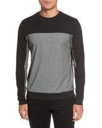 Vince Camuto - Vince Colorblock Slim Fit Crewneck Sweater - Lyst