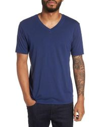 Goodlife - Classic Supima Cotton Blend V-neck T-shirt - Lyst