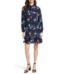 Tory Burch - Gabrielle Floral Silk Shirtdress - Lyst