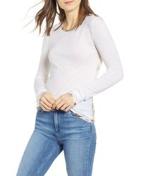 Zadig & Voltaire - Willy Gold Foil Tee - Lyst