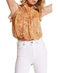 Bardot Briana Tie Back Top - Multicolor
