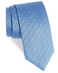 David Donahue   Geometric Silk Tie   Lyst