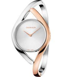 Calvin Klein - Party Dial Bracelet Watch - Lyst