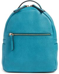 mali + lili Mali + Lili Vegan Leather Backpack - Blue
