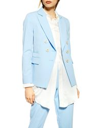 TOPSHOP Pale Blue Jacket