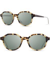 Shwood Powell 50mm Polarized Geometric Sunglasses - Multicolor