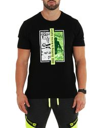 Maceoo Quitting Is Not An Option Graphic Tee - Black