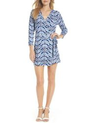 Lilly Pulitzer - Lilly Pulitzer Karlie Wrap Style Romper - Lyst