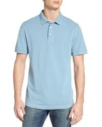 French Connection - Triple Stitch Slim Fit Polo - Lyst