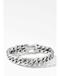 David Yurman - Curb Chain Bracelet - Lyst