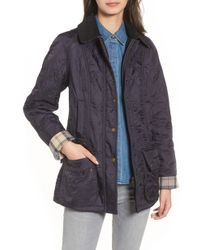 Barbour - 'beadnell' Quilted Jacket - Lyst