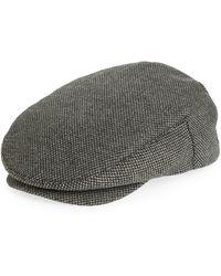 Brixton Hooligan Iii Driving Cap - Grey