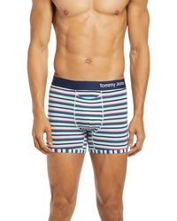 Tommy John Cool Cotton Trunks - Blue