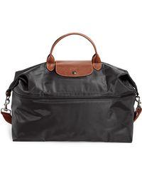 Longchamp 'le Pliage' Expandable Travel Bag - Black