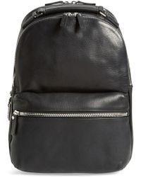 Shinola - Runwell Leather Laptop Backpack - Lyst