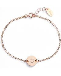 Nashelle - Mini Coin Bracelet - Lyst