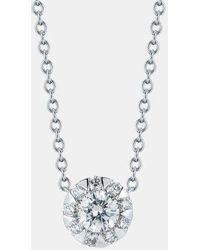 Kwiat - 'sunburst' Diamond Pendant Necklace - Lyst