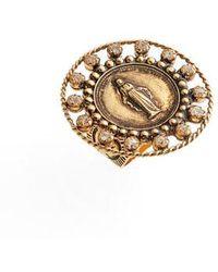 Virgins, Saints & Angels - Round Virgin Ring - Lyst
