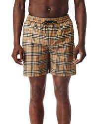 Burberry Small Scale Check Drawcord Swim Shorts - Multicolor